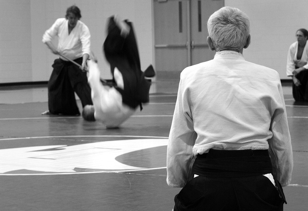 aikido black belt hakama